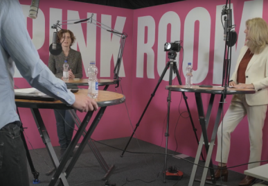 Zadkine Podcast Pink Room